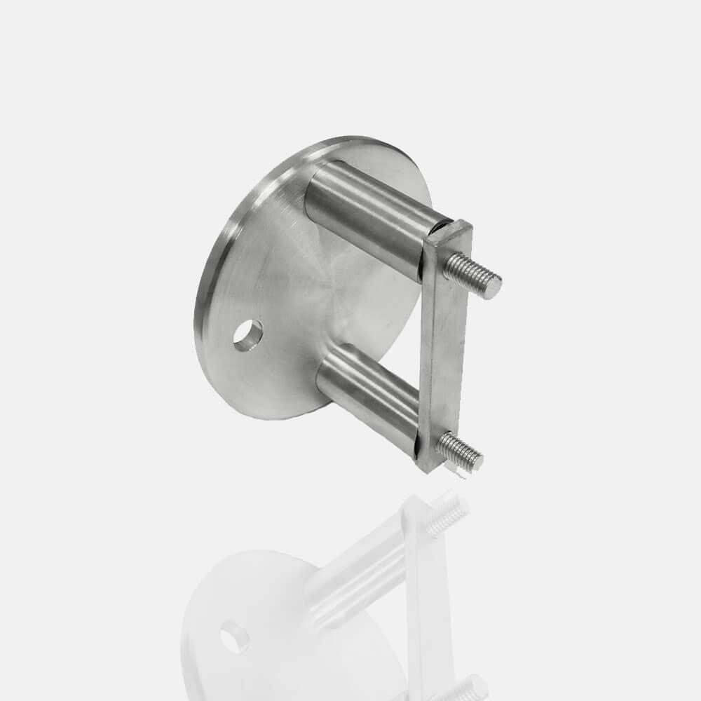 Platine inox anglaise ronde diamètre 100mm