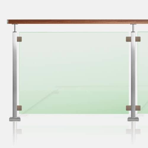 Kit barrière piscine tube carré
