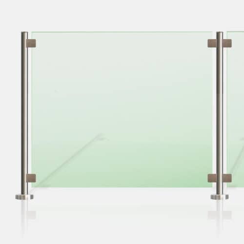 Kit Clôture piscine SMC tube rond