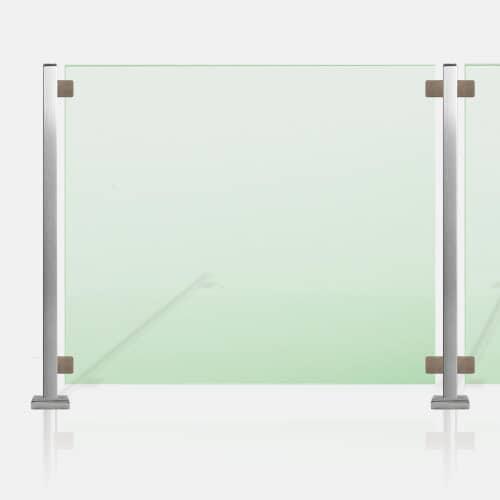 Kit Clôture piscine SMC tube carré