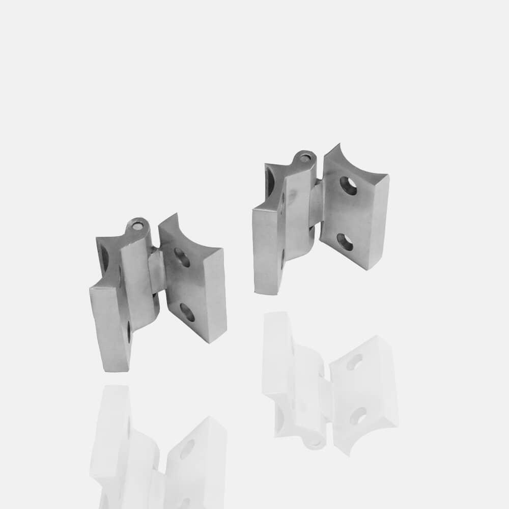 Charnières portillon en inox