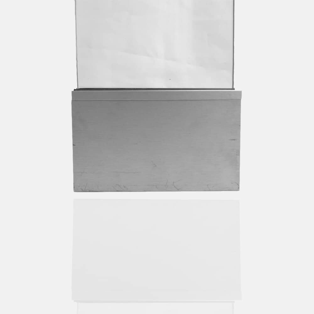 Profilé aluminium pour verre