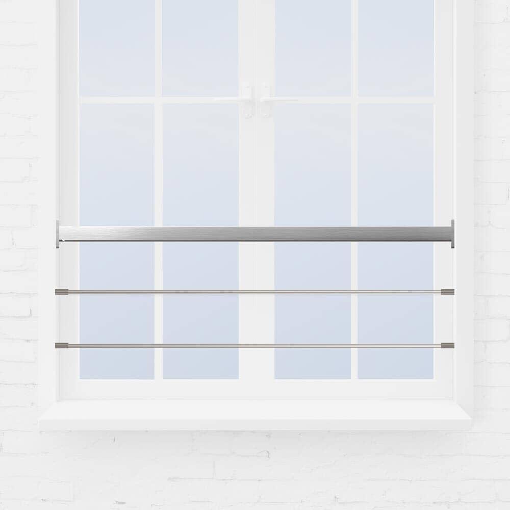 Kit barre appui de fenêtre à tube main courante tube carré