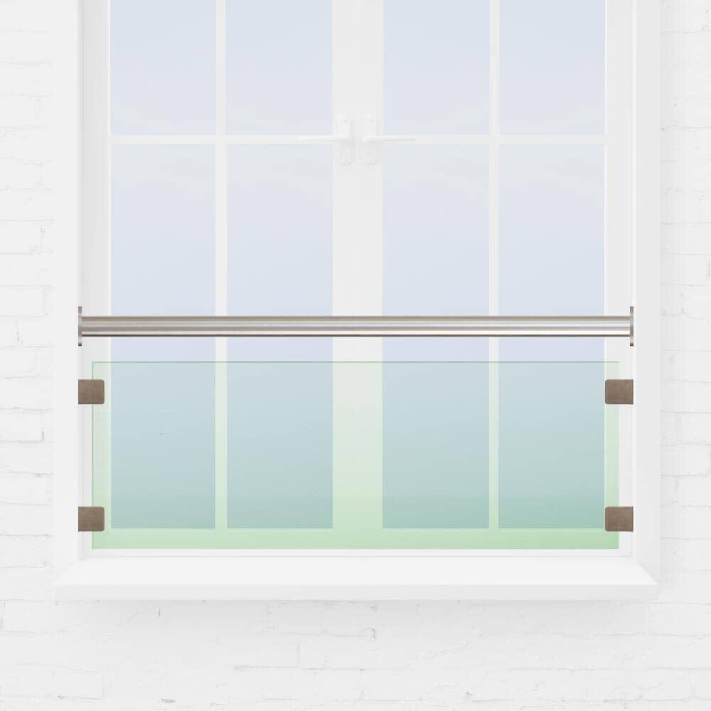 Kit barre appui de fenêtre verre