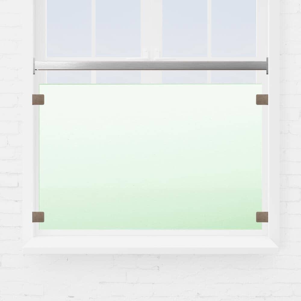Kit garde-corps fenêtre verre et tube carré