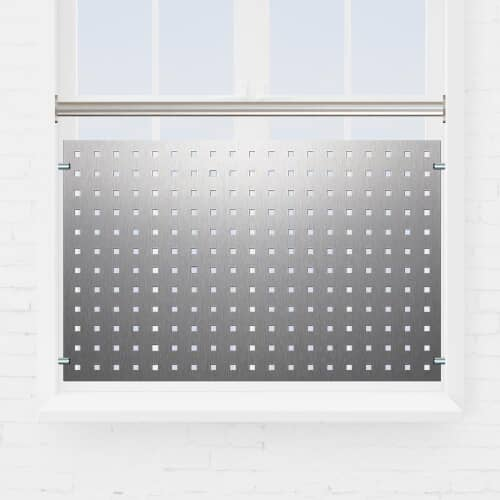 Kit garde-corps fenêtre tôle perforée