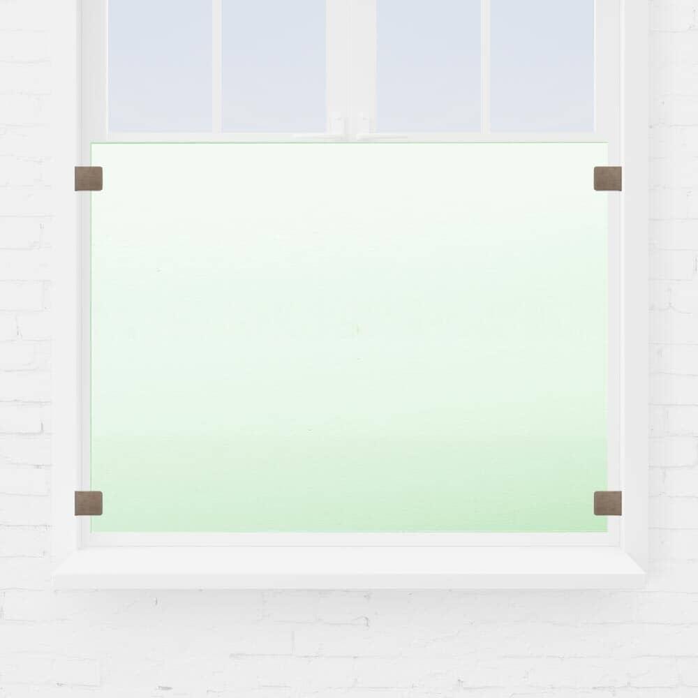 Kit garde-corps fenêtre verre sans main courante