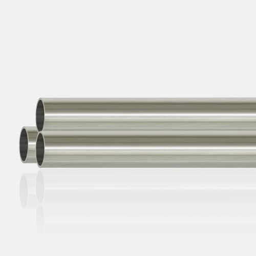 Tube inox 304 brossé 42.4 x 2mm