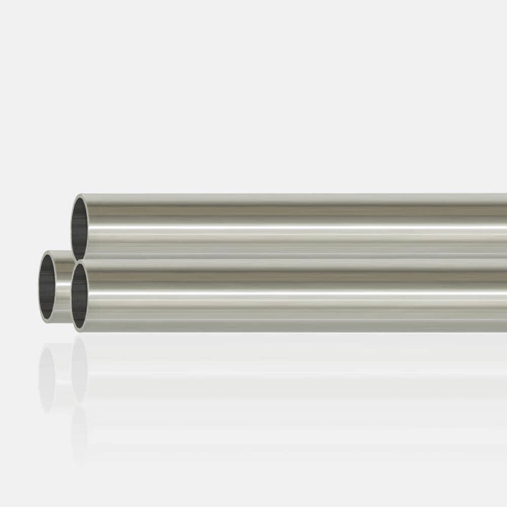 Tube inox 316 brossé 42.4 x 2mm pour main courante