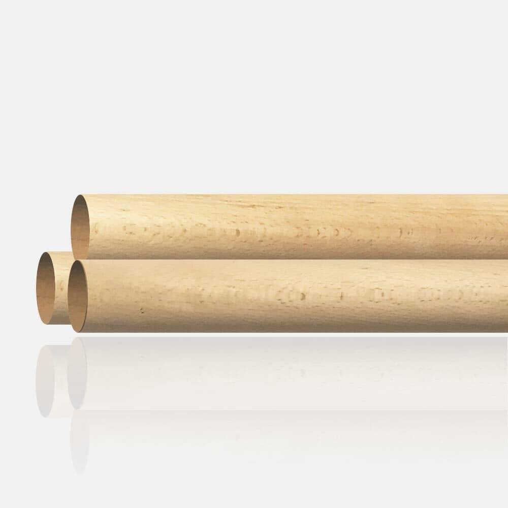 Huile Pour Escalier Hetre main courante bois de hêtre 42mm