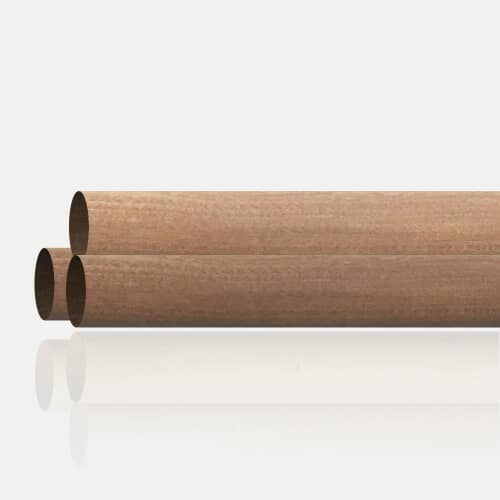 Main courante bois exotique 42mm