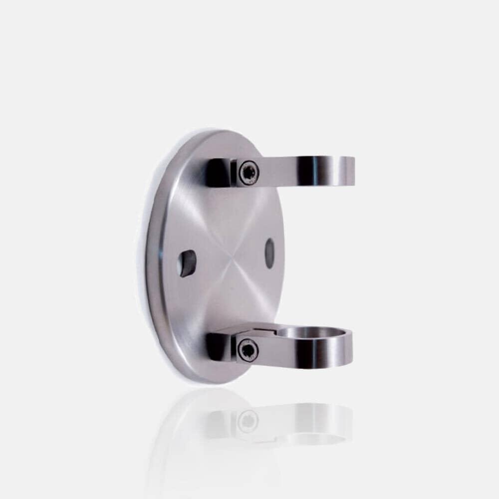 Platine inox anglaise ajustable diamètre 120mm