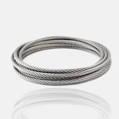Câble inox 4mm ou 6mm au mètre