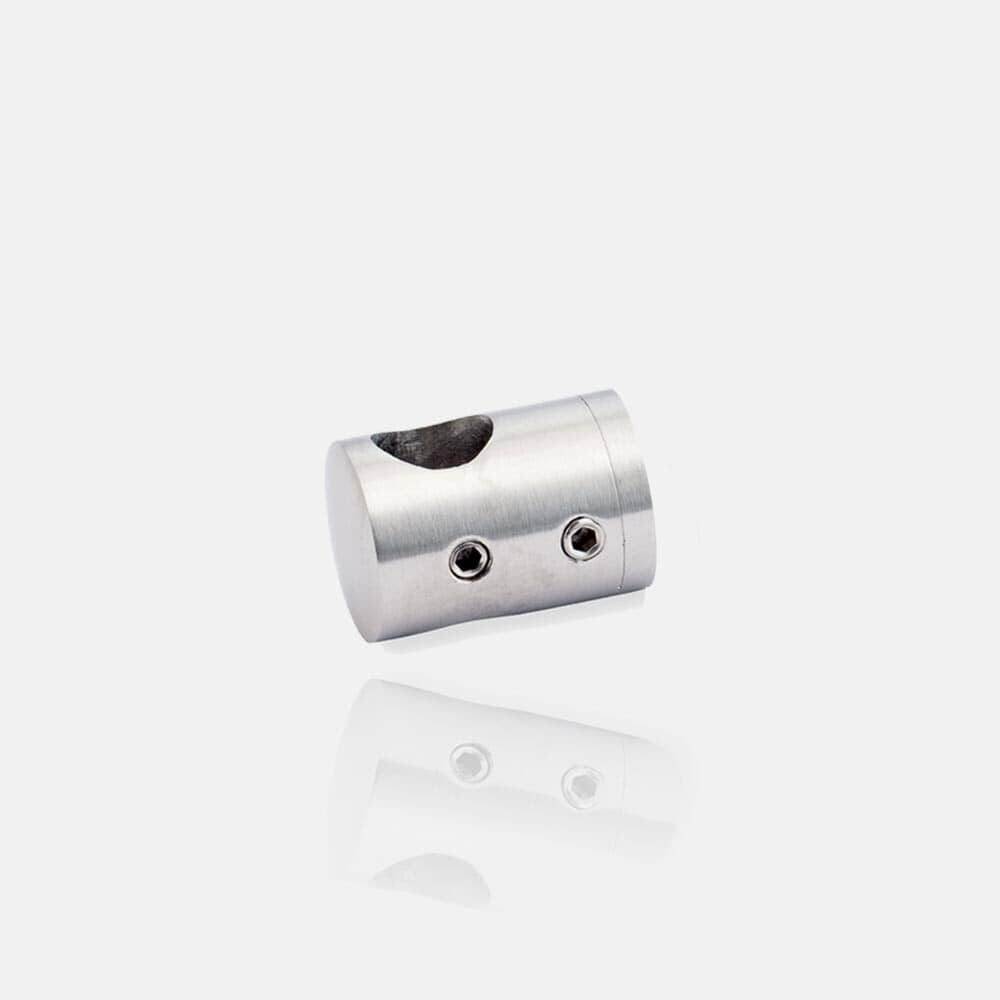 Support de lisses inox plat ou poteau carré, transversal, de tube carré, adaptateur, raccord