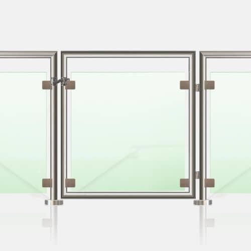 Portillon Inox à verre