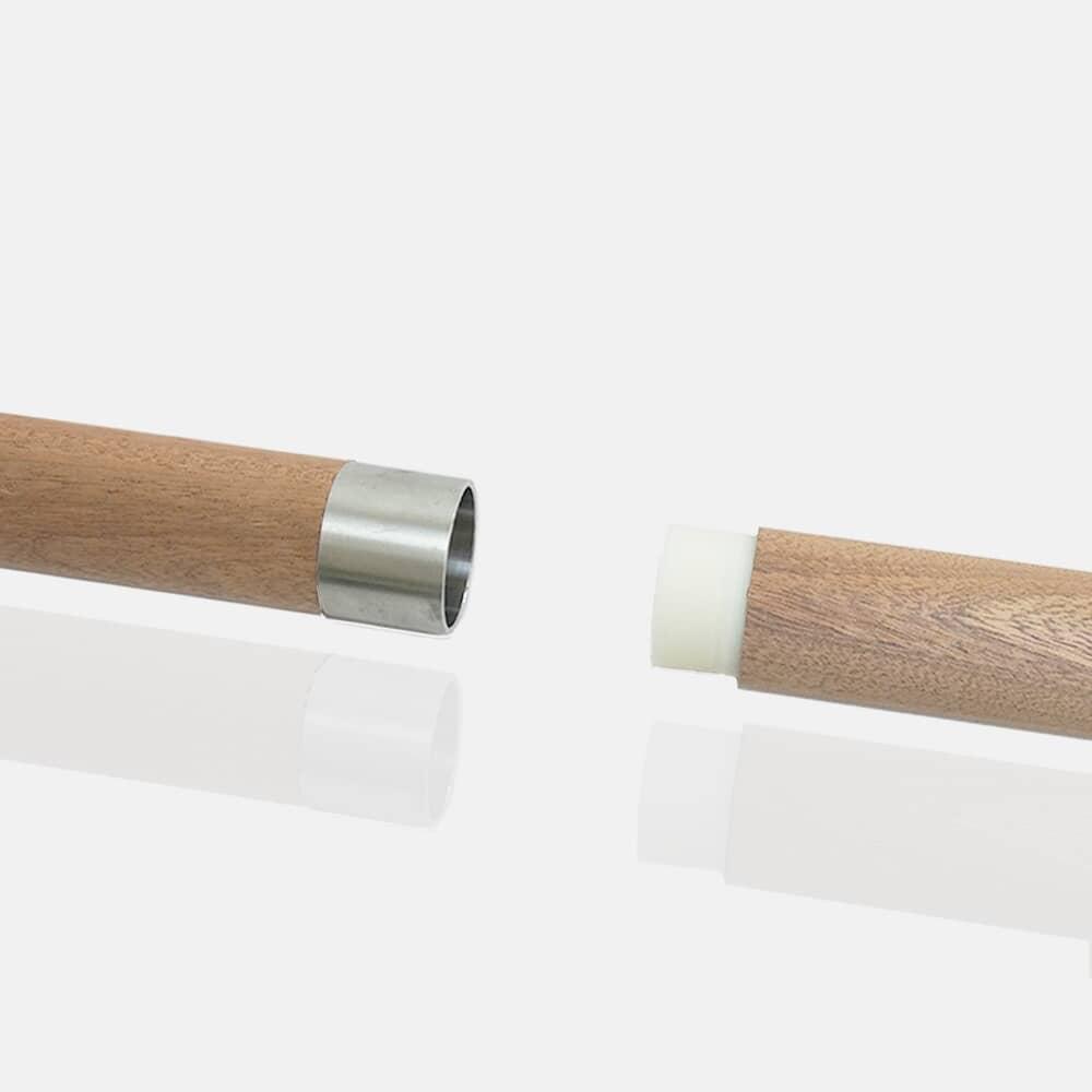 Raccord union inox pour bois avec teflon