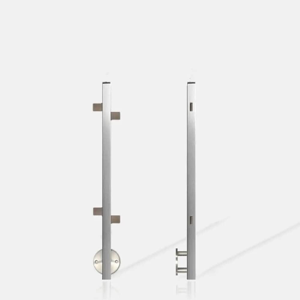 Poteau carré verre SMC ANG inter escalier